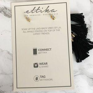 Jewelry - Ettika Day Dreamer Tassel Earrings